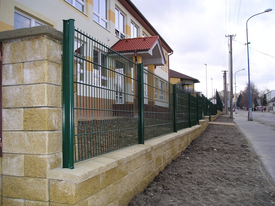 Plotový panel DOUBLE PVC 830 mm